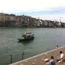 Rheinfahrt mit dem Boot