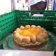 Basler Spezialität, die St. Honoré-Torte